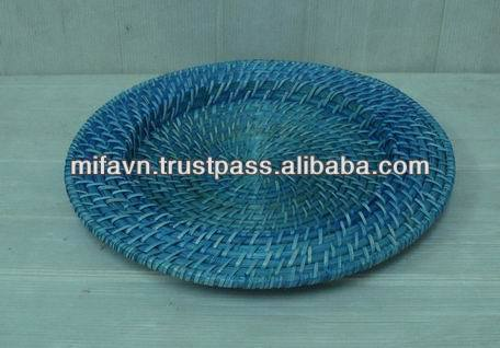 & Bamboo Rattan Charger Plates Wholesale Plates Suppliers - Alibaba