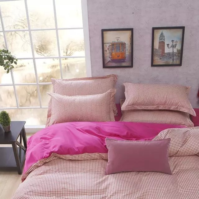 sizes: queen, queen duvet set, king duvet set, king Refresh your bedroom style with the luxurious Tribeca Living Thread-Count Cotton Percale Duvet Cover Set. The beautiful solid duvet cover is reversible to the same solid, creating a lovely canvas to mix-and-match with prints and colors.