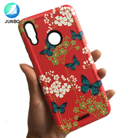 3D Emboss Custom Phone Case Printing Combo 2 in 1 Soft TPU Bumper Hard PC Back Shockproof Cell Phone Cover For Oneplus 6T
