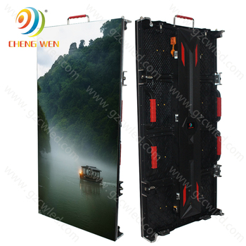 Outdoor Led Display Screen 500*1000mm Led TV Wall Rental Screen P3.91 P4.81 Advertising Led Video Panels