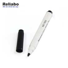 Reliabo Individuell Bedruckte Schwarz Multi Colouring Permanent Stoff Marker