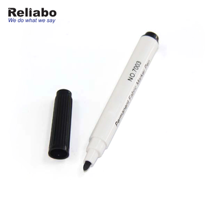 Reliabo Custom Printed Black Multi Colouring Permanent Fabric Markers
