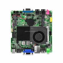 Mini itx motherboard 12*12*2.5 cm, with celeron processor 1037u onboard, dual core 1.8Ghz