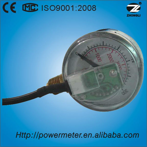 (Y-50) 50mm normal output signal auto digital air pressure gauge meter