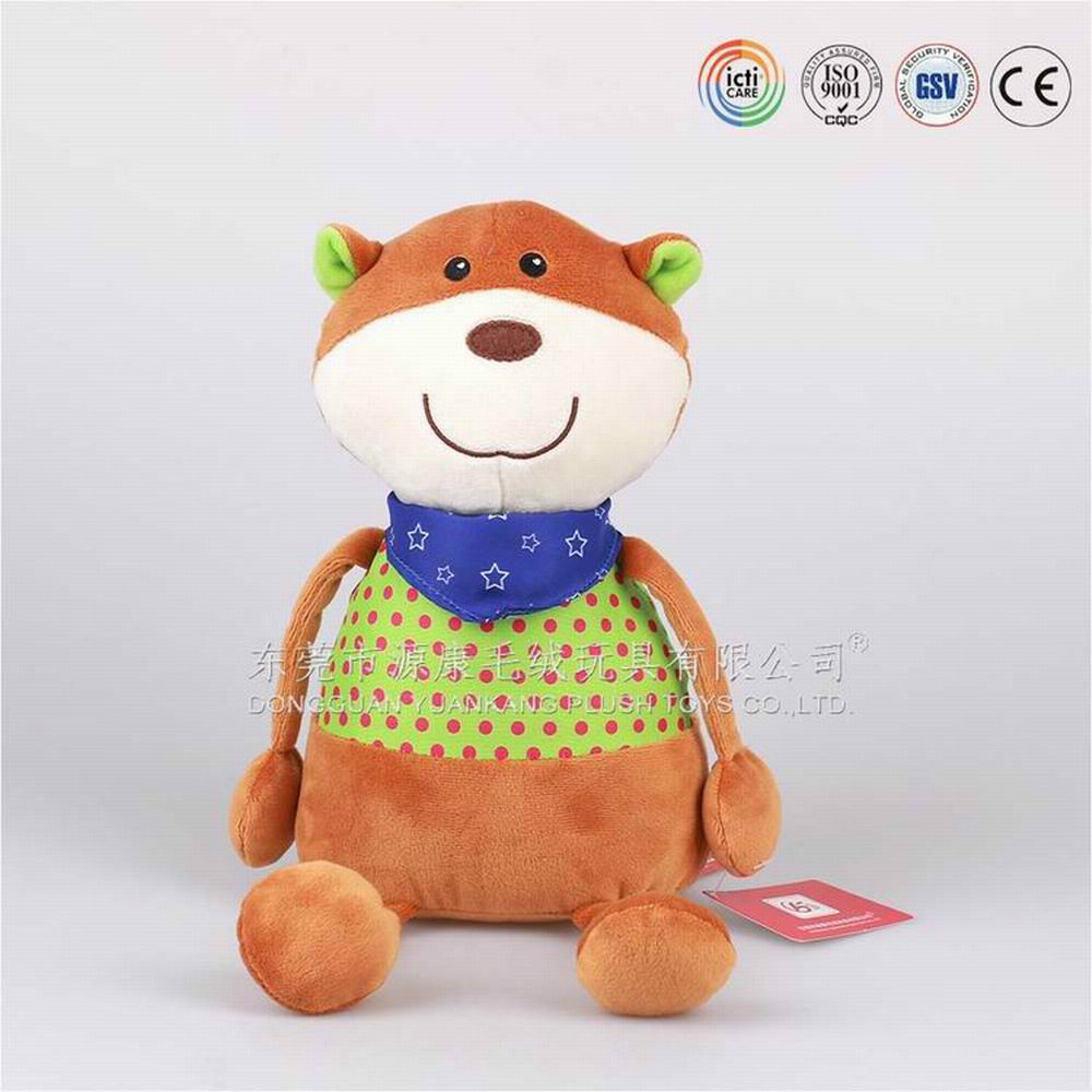 Plush Toys Product : Baby plush comforter toys cute animal stuffed for