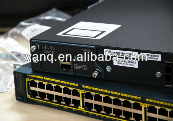 Cisco Catalyst C2960S-48LPS-L Ethernet Switch 48-ports 10/100/1000 PoE+