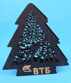 low price drawing painting wooden christmas decoration