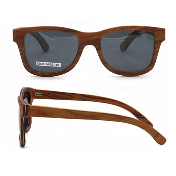 Cheap custom wood sunglasses bamboo sunglasses