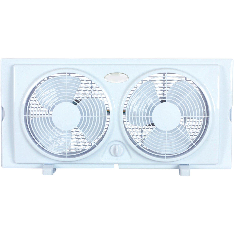 Get Quotations Optimus F 5280 7 Inch Twin 2 Speed Window Fan White
