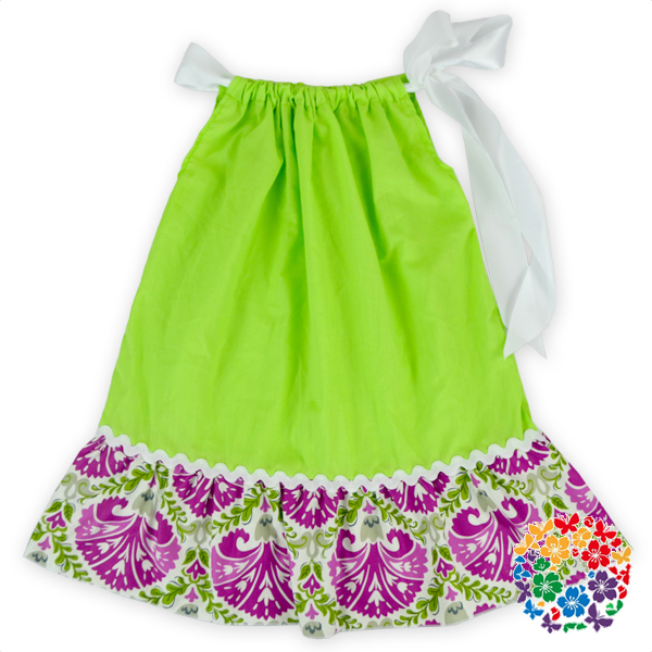 Boutique Toddler Girls Holiday Outfit Green Flower Birthday Dress 1 Year Old Girl