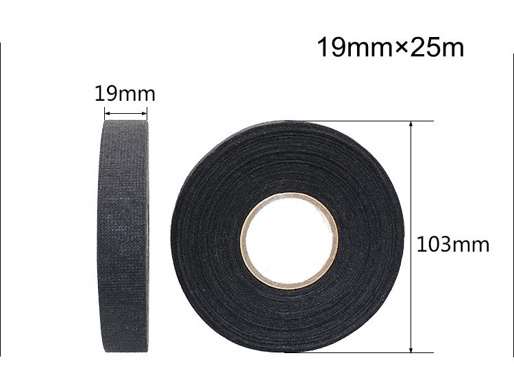 insulation fabric coton tape auto wireharness tape