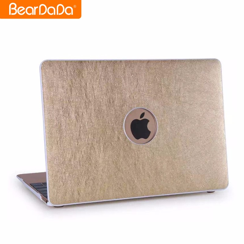 2017 Trending products Leather case cover for macbook pro
