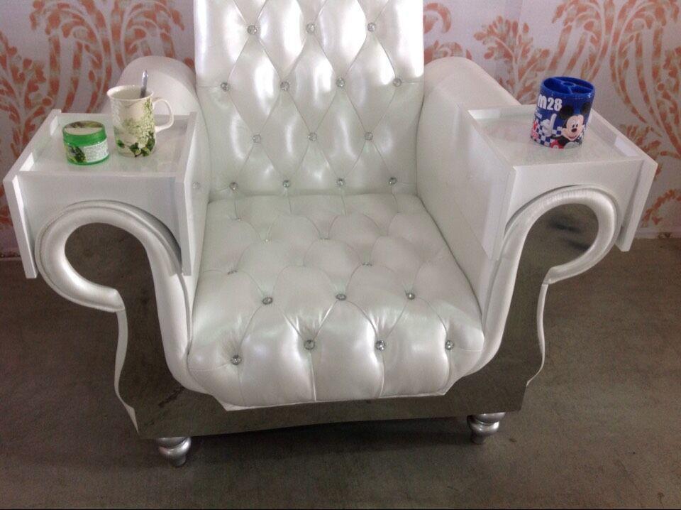 DanXueYa Fashion Wedding The Bride And Groom Chairs Luxury Beauty Salon Pedicure