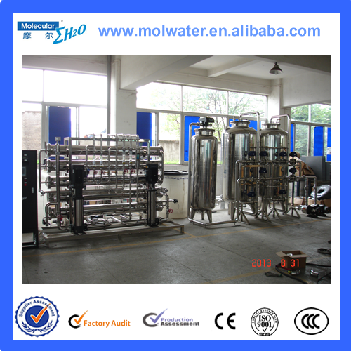 Reverse osmosis water purifying equipment for potable water treatment