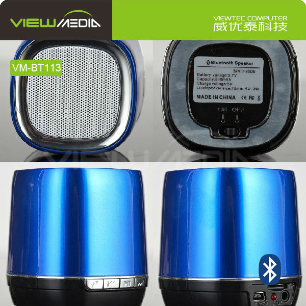2015 hot selling bluetooth speaker connections VM-BT113