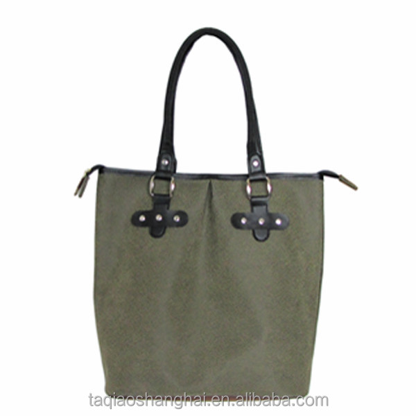 Durable Angola suede leather handbags /shoulder bags &tote bags