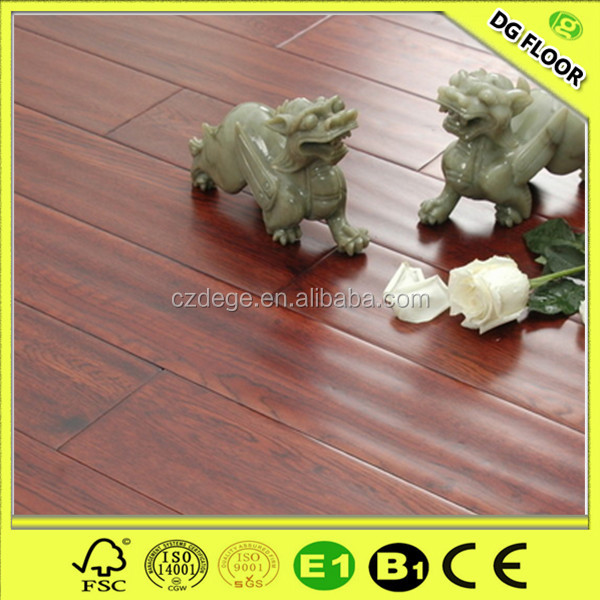 Better handscraped surface wooden lamanate flooring tiles options
