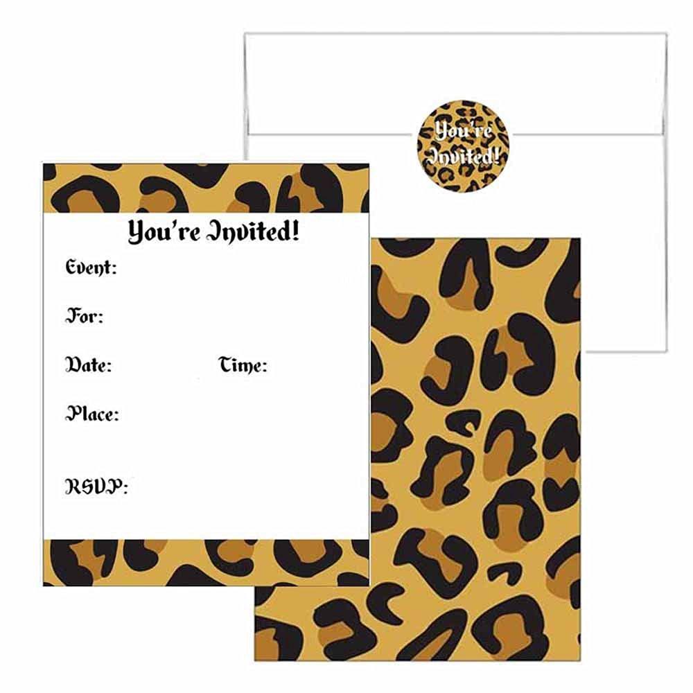 Cheap Leopard Print Birthday Supplies, find Leopard Print Birthday ...