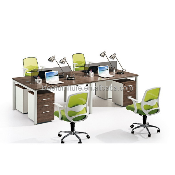 Mobile Home Office Computer Desk Workstation For Small Office IC151 4