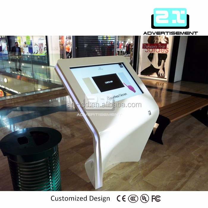 transparent lcd display tablet floor stand screen monitors 100 inch touch screen