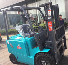 China brand new mini 1.5-2 ton wide-view 4 meter duplex mast battery electric forklift for sale price