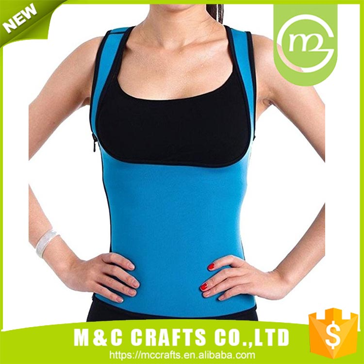Promotional top quality yoga wear vest women