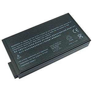 HP/Compaq Evo N800C-470039-601 Black 8 Cell Battery Compatible for HP/Compaq Laptop/Notebook - 4400mAh/63Wh