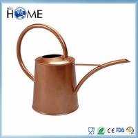Copper colored galvanized decoration watering can in bulk