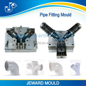Manufacturing high quality TEE reducer PVC pipe fitting molds, UPVC pipe fittings moulds