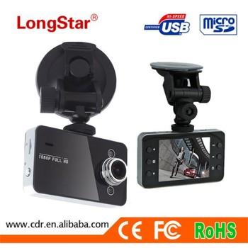 Hottest K6000 Car Camera 2.4inch Display Screen 720P Night Vision Cheap Car Camera Recorder