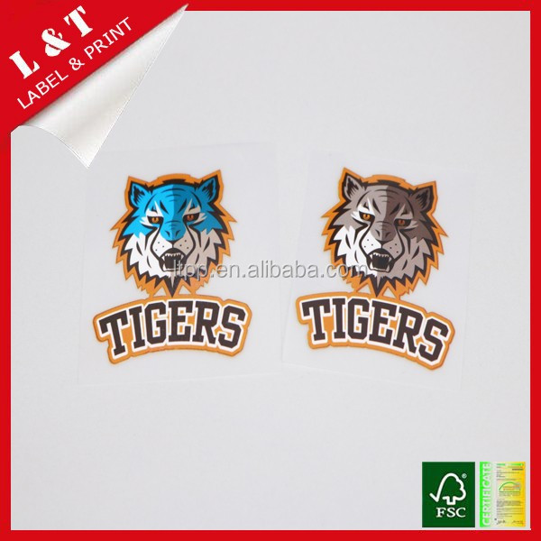 Wholesale heat transfer sticker for sports club clothes