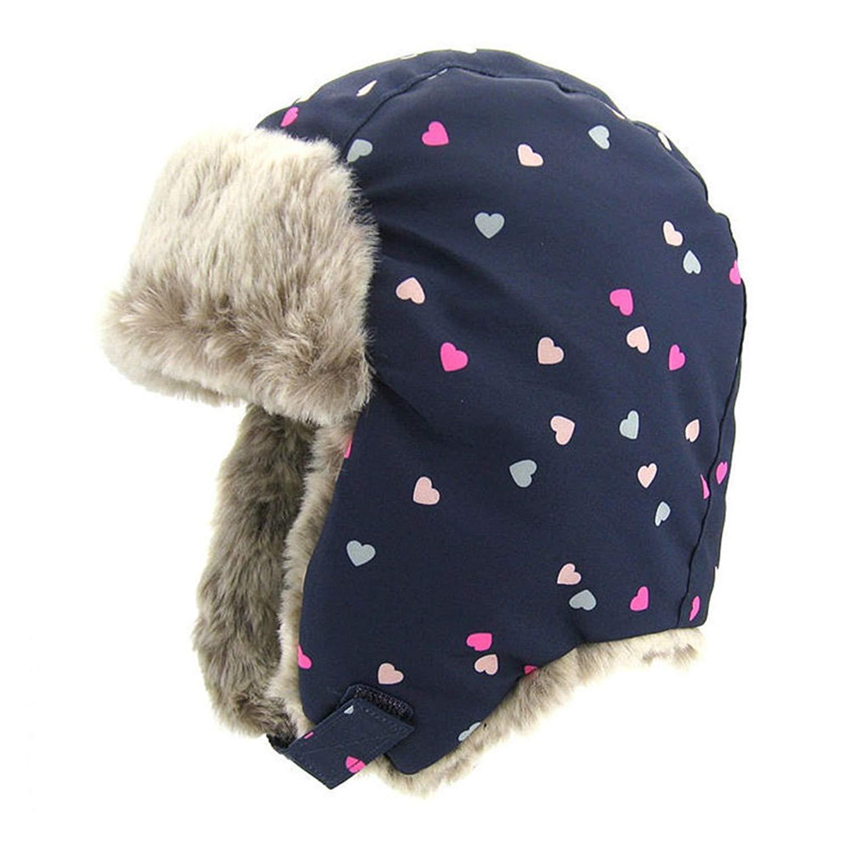 c7cf82aa801fe Get Quotations · Upsmile Boy Ushanka Hat Girl Bomber Hat Cap Earflap  Trapper Hat Ski Hunting Cap Cold Weather