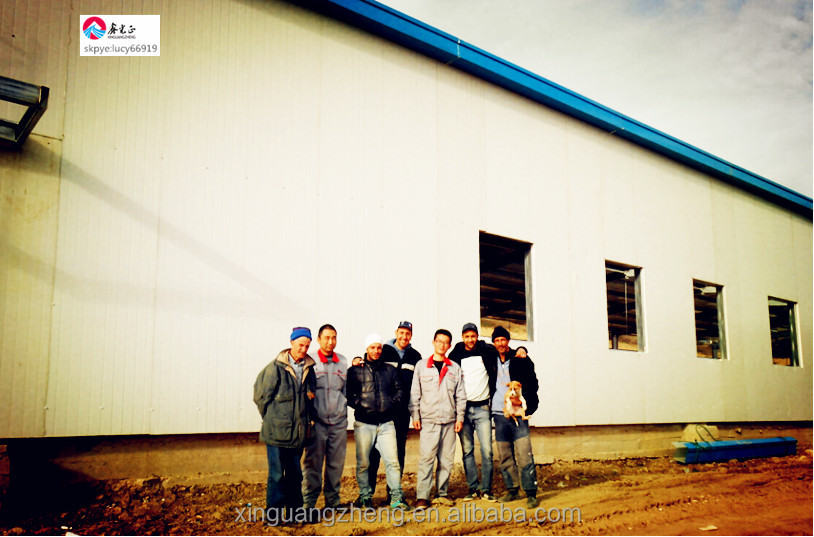 Design Light Steel Structure Building Workhouse