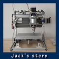 חריטת CNC מכונת diy cnc 2535 מסגרת אלומיניום אלומיניום לכל היותר כדור חדש בורג ציר