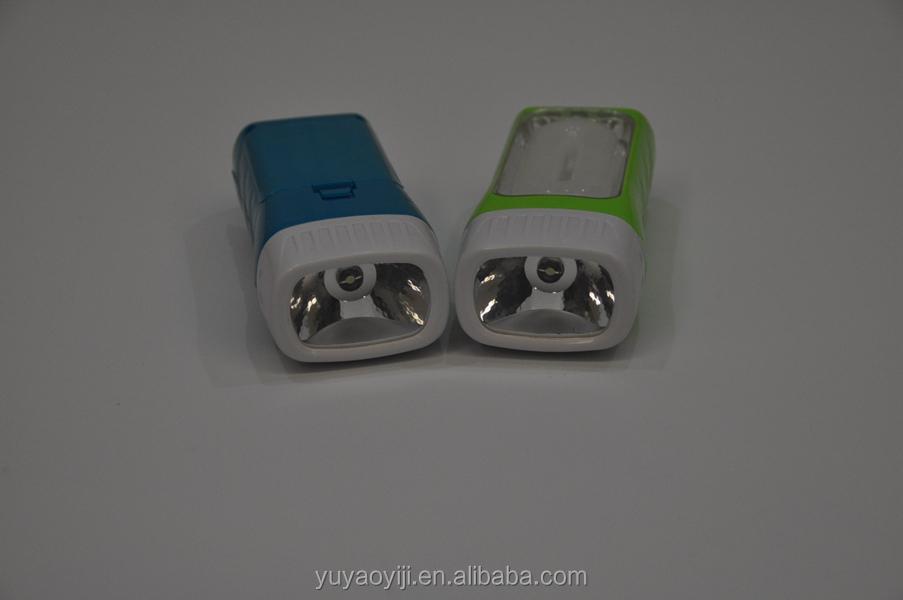 Led Plastic Flashlight Promotion 3*aa Battery Torch New Design ...