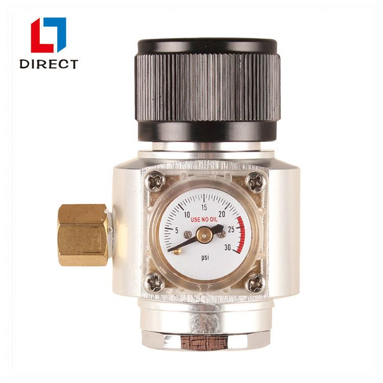 High Quality Mini CO2 Beer Regulator/Brass regulator with different inlet port