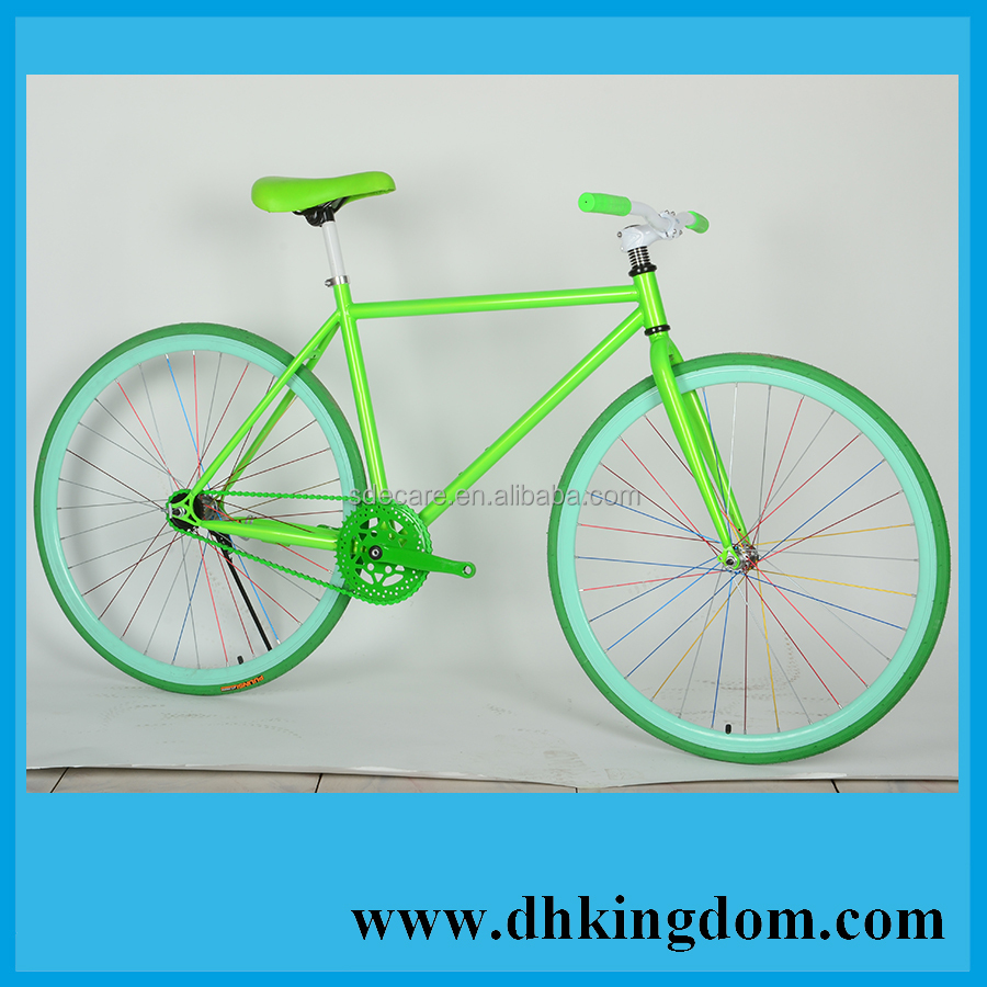 OEM Colorful Life Fixed Gear Bike