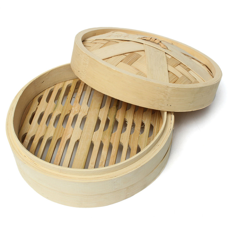 Large food bamboo steamer