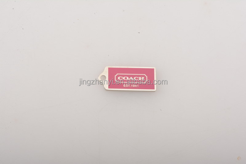 zinc alloy metal paint pendant engraved picture on pendant used for garment/shoe pendant