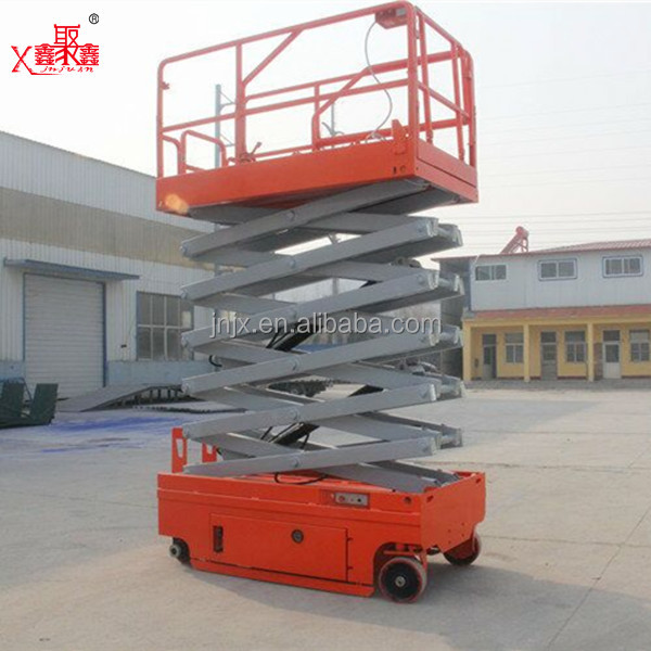 Small electric scissor lift equipment hydrauli ladder lift with CE