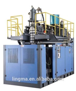 Installs quickly blow molding defects heat press molding machine