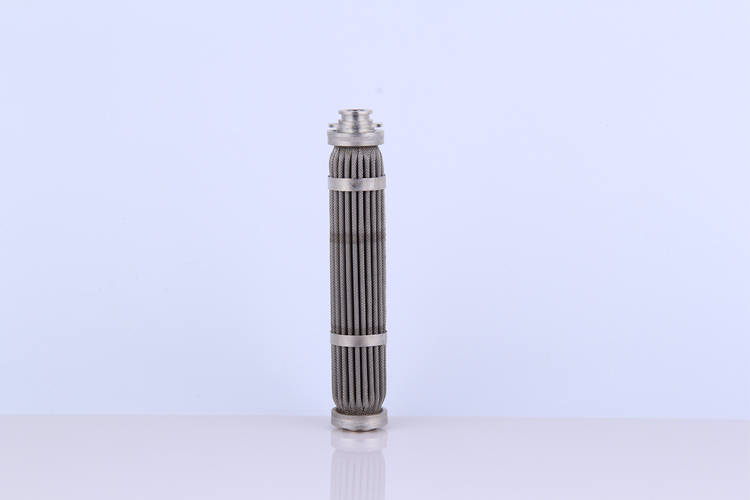 100 Micron Replacement Stainless steel Fuel Filter element cylinder