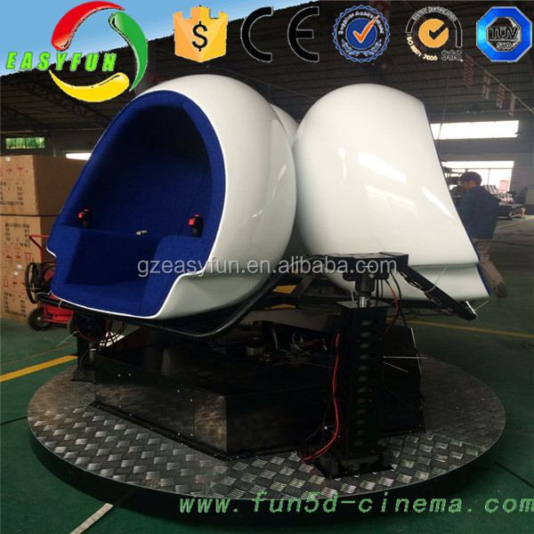 Deep Immersive inflatable amusement park Simulator 9D VR Egg Game Machine With Oculus Rift Dk2 from Easyfun