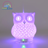 High quality wood grain electric aroma Diffuser ultrasonic air diffuser 120ml with 7 Color changing night light