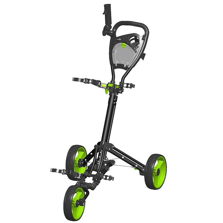 Fabrikant Trolley Wielen Golf Caddy
