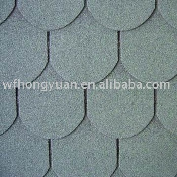 Asphalt Shingles Roofing Fish Scale Type