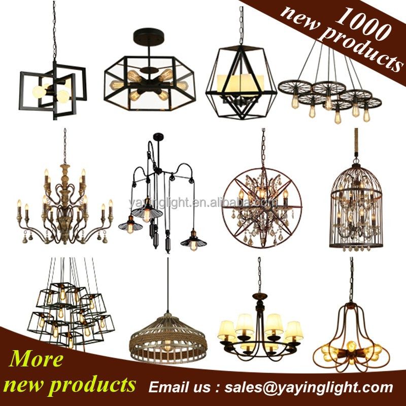 fil de fer pendentif lampe lustre import de chine. Black Bedroom Furniture Sets. Home Design Ideas