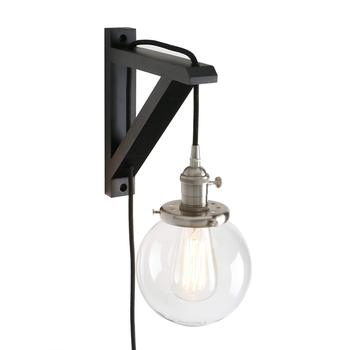 Modern Interior Industrial Home Blown Glass Wall Lamp