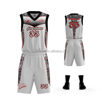 6709a163d0e 2018 latest basketball uniform full set full sublimation printing for team  or club by own logo. View larger image