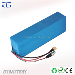 Customs lithium ion battery pack 12S 44.4V 15AH Electric bike battery pack